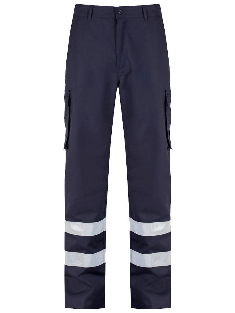 Protective Cargo Trouser Blue Shadow Navy