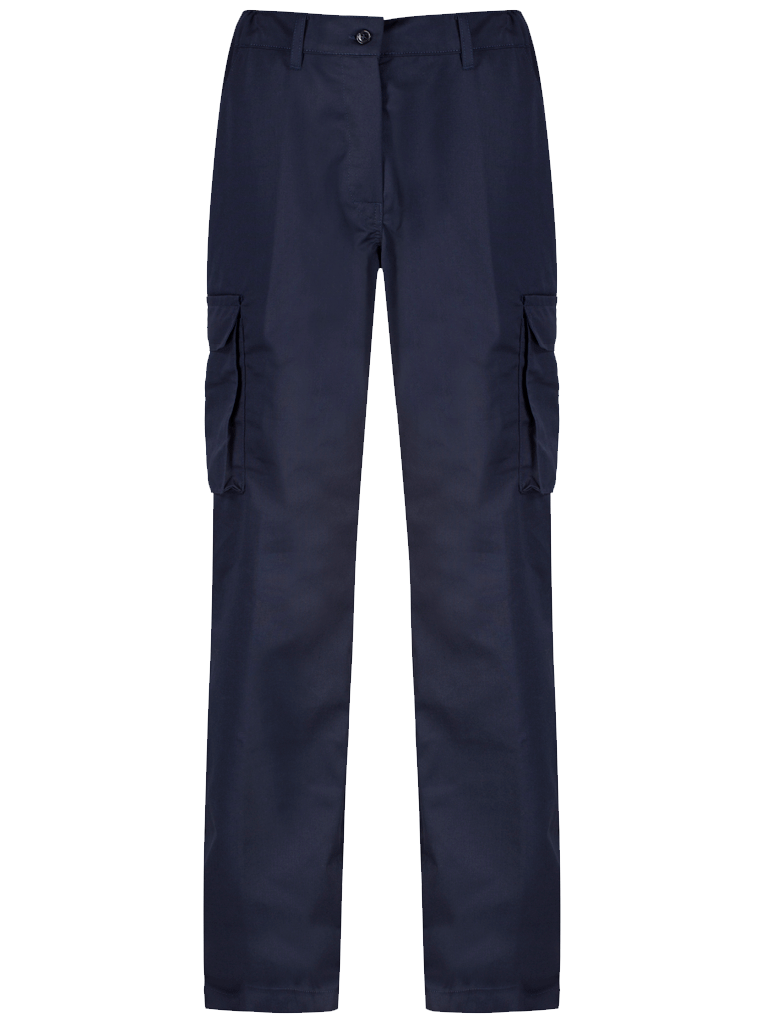 Ladies Cargo Trouser Blue Shadow Navy