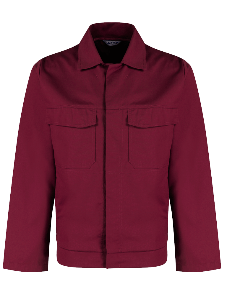 Picture of Alsi Stud Jacket - Smokeberry