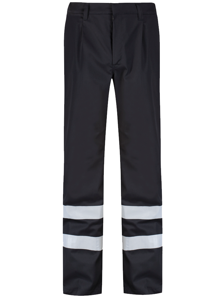 Picture of Alsi Trouser with Reflective Tape - Blue Shadow