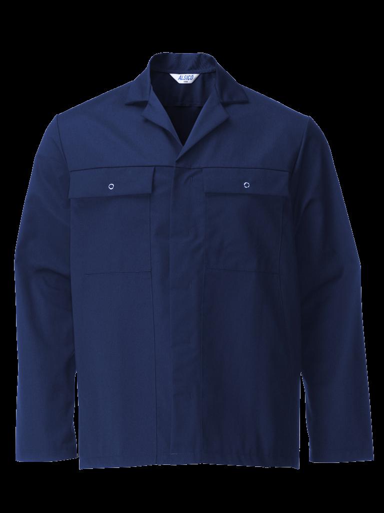 Picture of Stud Jacket (Cotton Rich 315gsm) - Sailor Blue