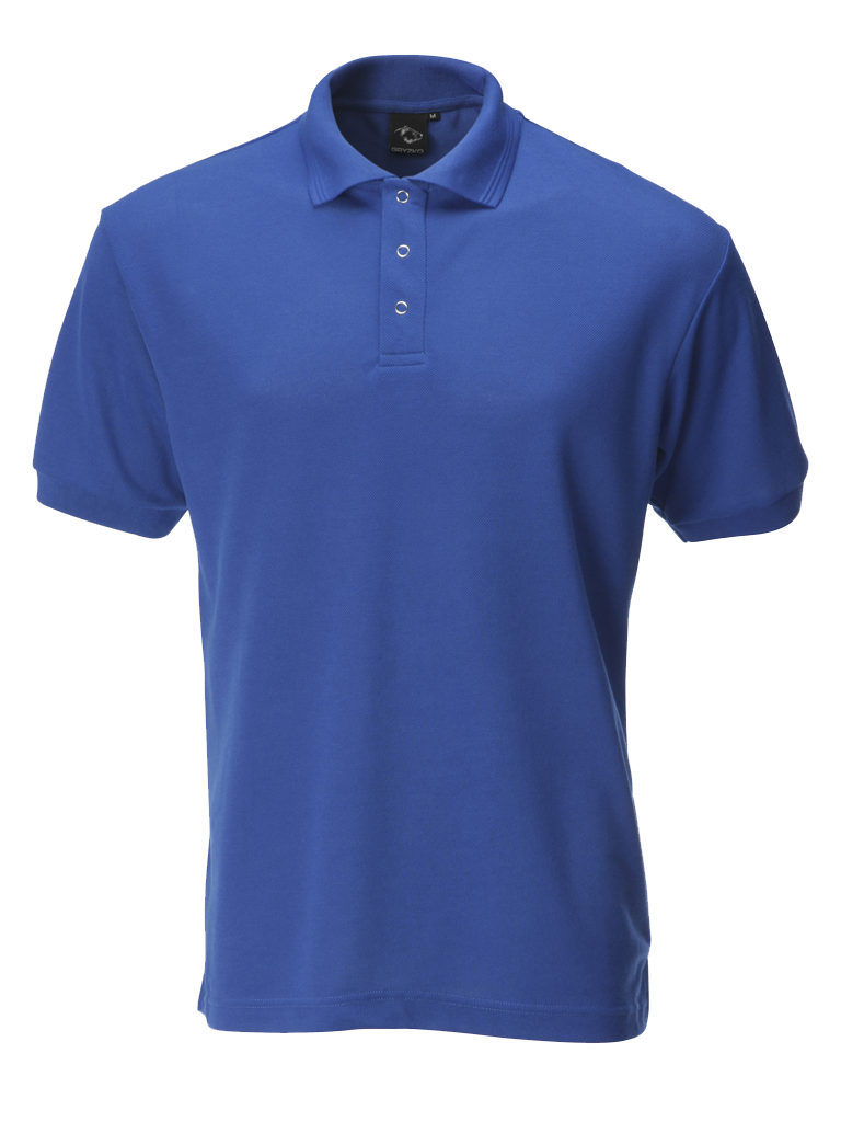 Picture of Industrially Launderable Polo - Royal Blue