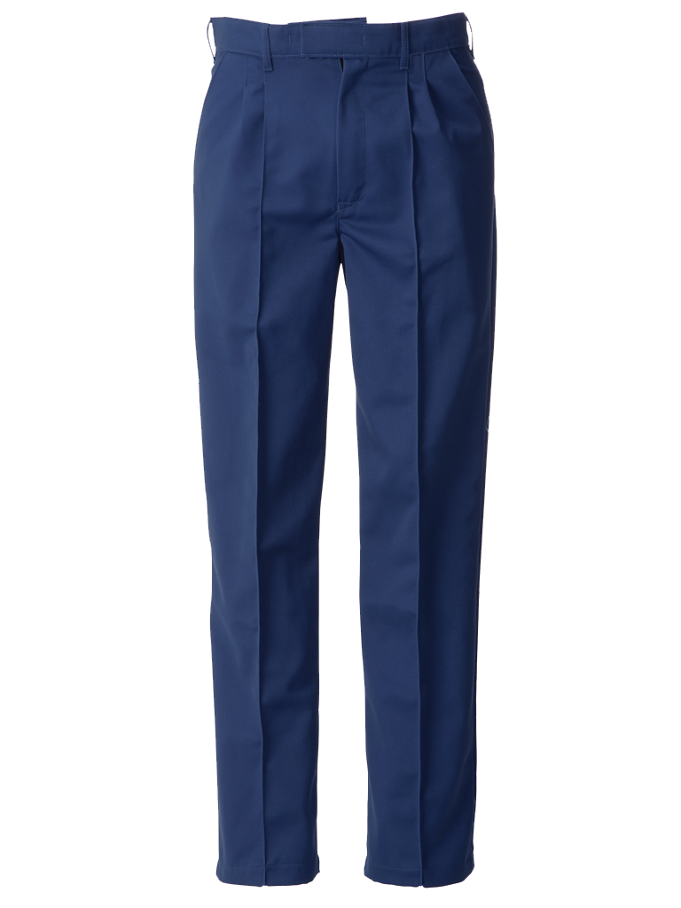 Picture of Trouser With Sewn-in Front Creases (315gsm) - Sailor Blue
