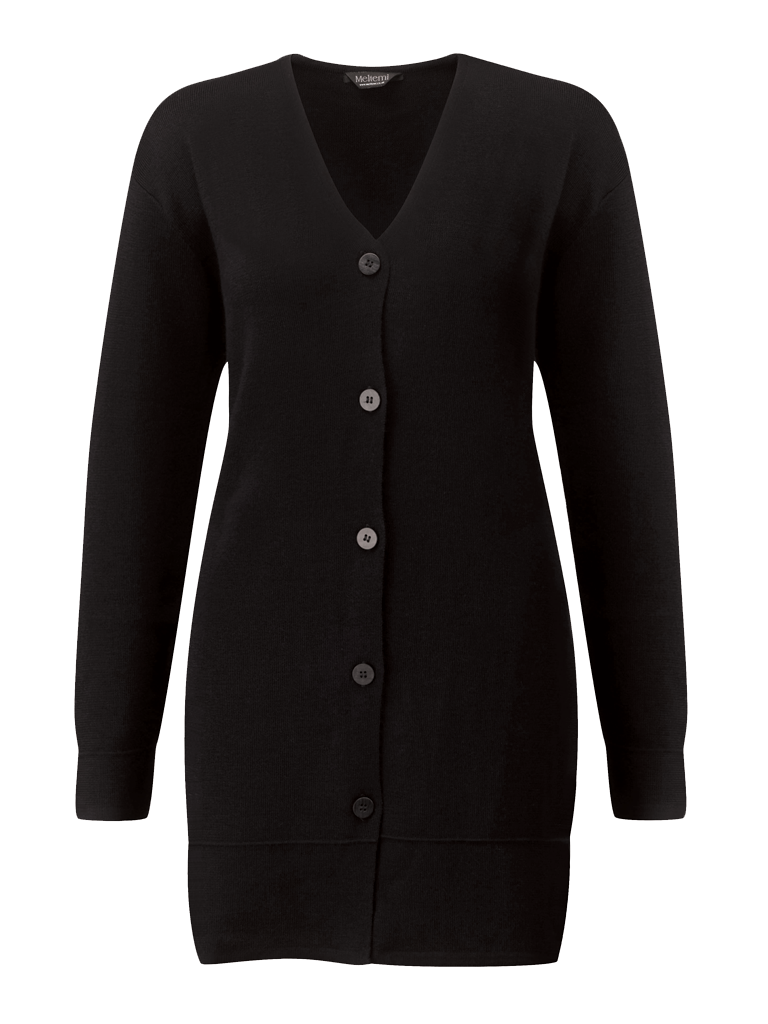 Picture of Longline Cardigan - Black