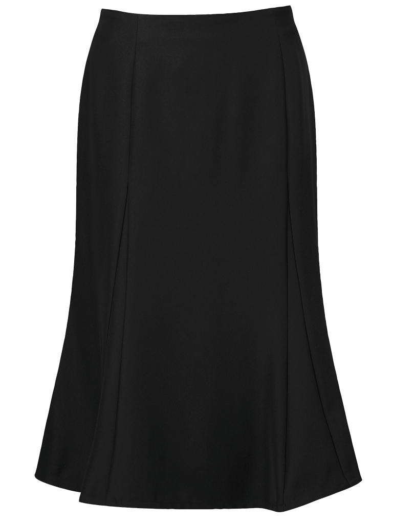 Picture of Easycare Flippy Skirt - Black