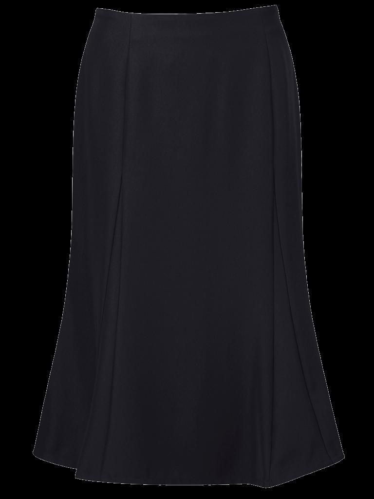 Picture of Easycare Flippy Skirt - Navy