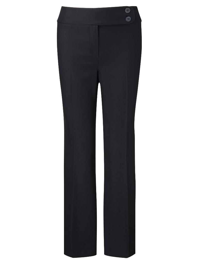 Picture of Easycare Straight Leg Trouser - Navy