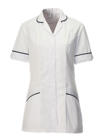 Picture of Female Tunic White (210gsm)