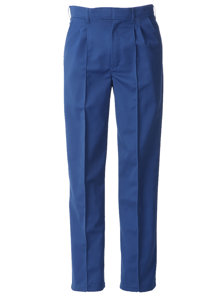 Picture of Food Trade Trouser Half Elasticated Waistband (245gsm) - Royal Blue
