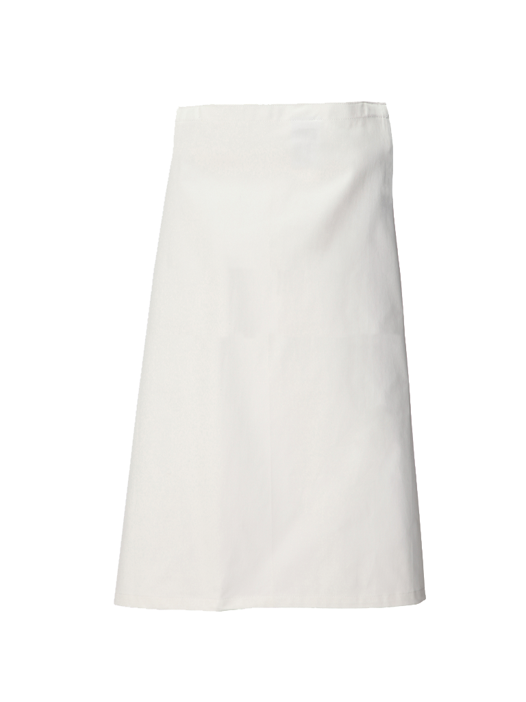 Picture of Long Waist Apron - White