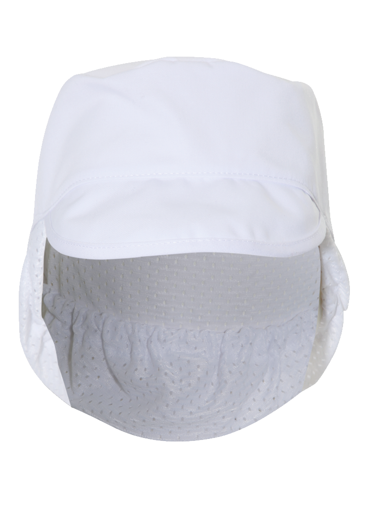 Picture of Peaked Hat Mesh Snood - White