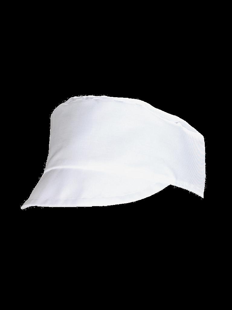Picture of Peaked Pork Pie Hat - White