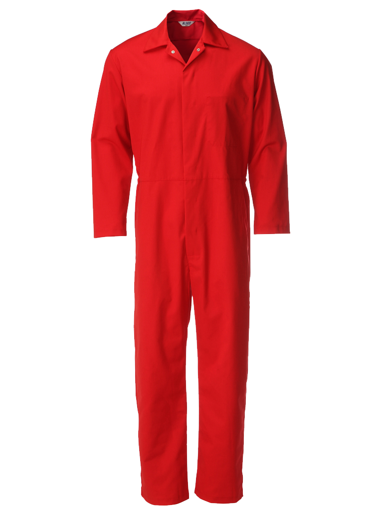 Picture of Food Trade Coverall (245gsm) - Red