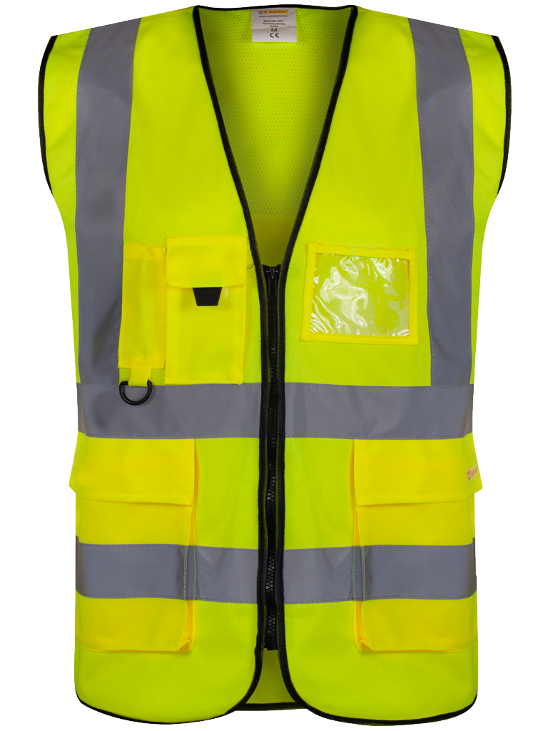 Picture of Executive Waistcoat - HV Yellow