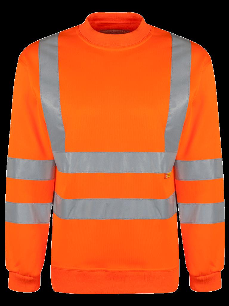 Picture of Hi-Vis Sweatshirt - HV Orange