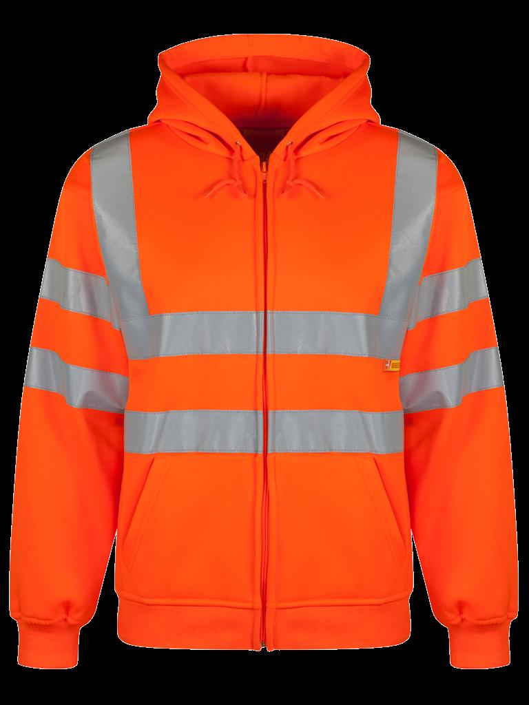 Picture of Hooded Sweatshirt - HV Orange