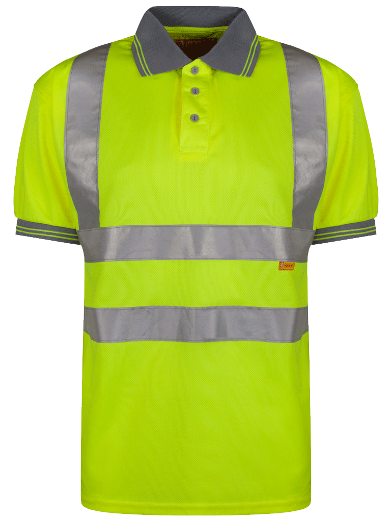 Picture of Hi-Vis Polo - HV Yellow