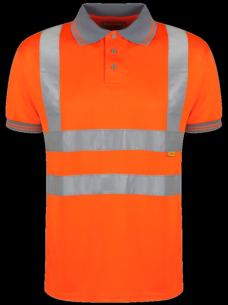 Picture of Hi-Vis Polo - HV Orange