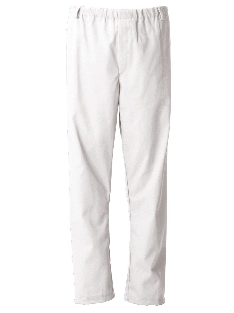 Picture of Food Trade Trouser Full Elasticated Waistband (245gsm) - Super White
