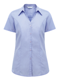 Picture of Plain Polycotton Blouse