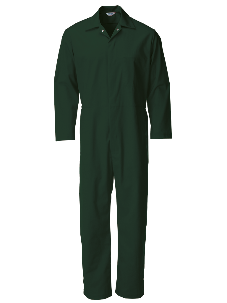 Picture of Food Trade Coverall (245gsm) - Bottle Green