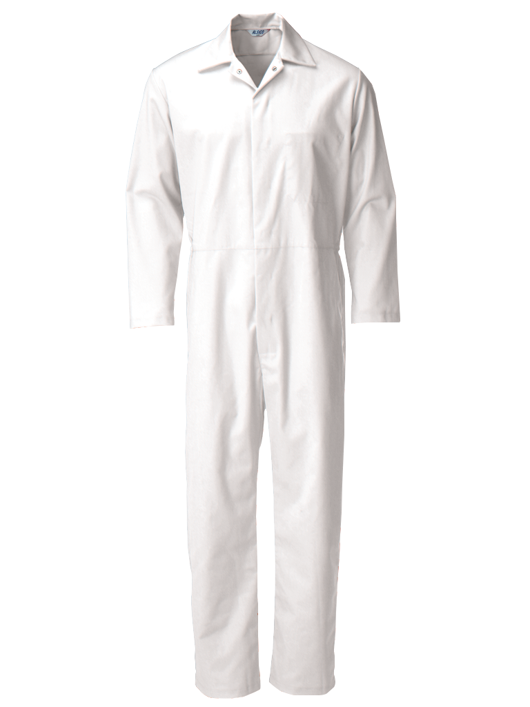Picture of Food Trade Coverall (245gsm) - Super White