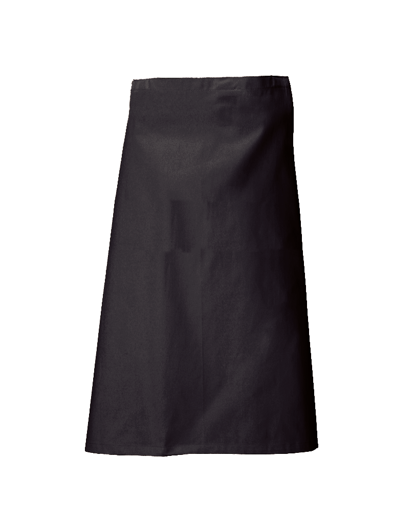 Picture of Long Waist Apron - Black