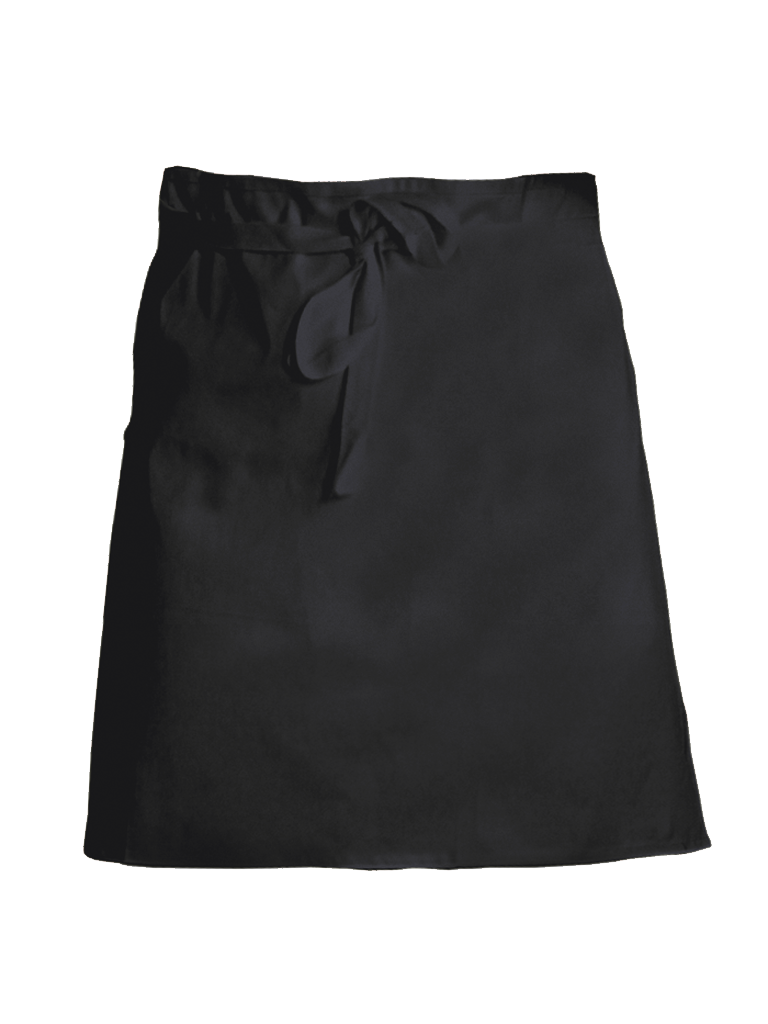 Picture of Short Waist Apron - Black