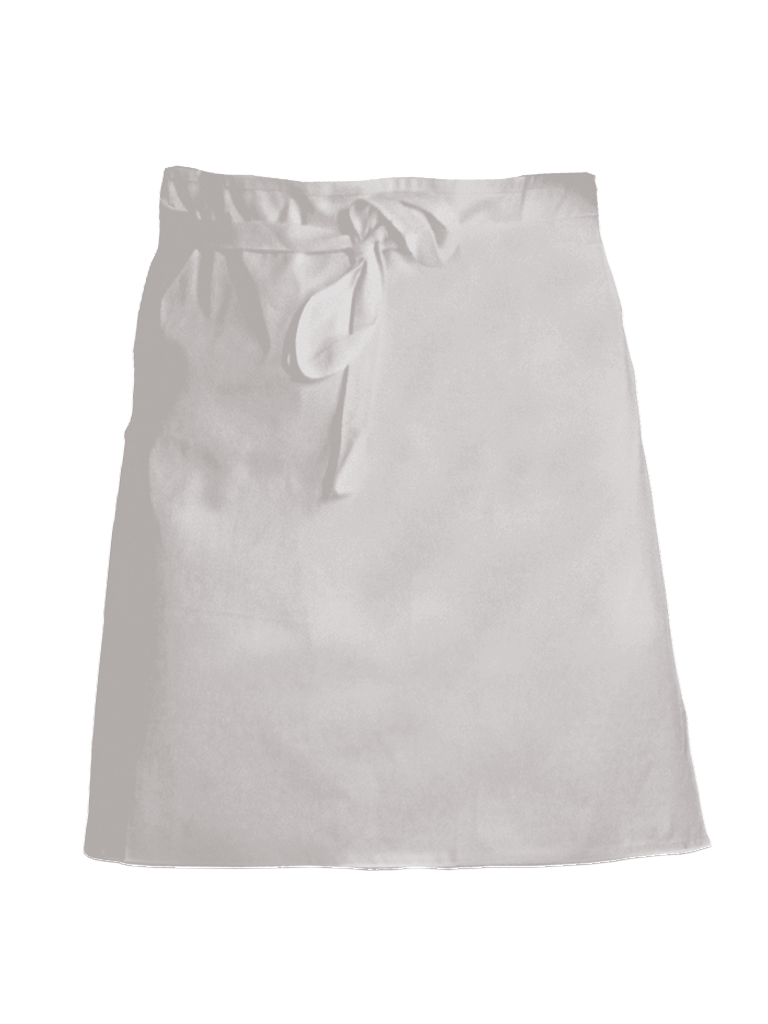 Picture of Short Waist Apron - White