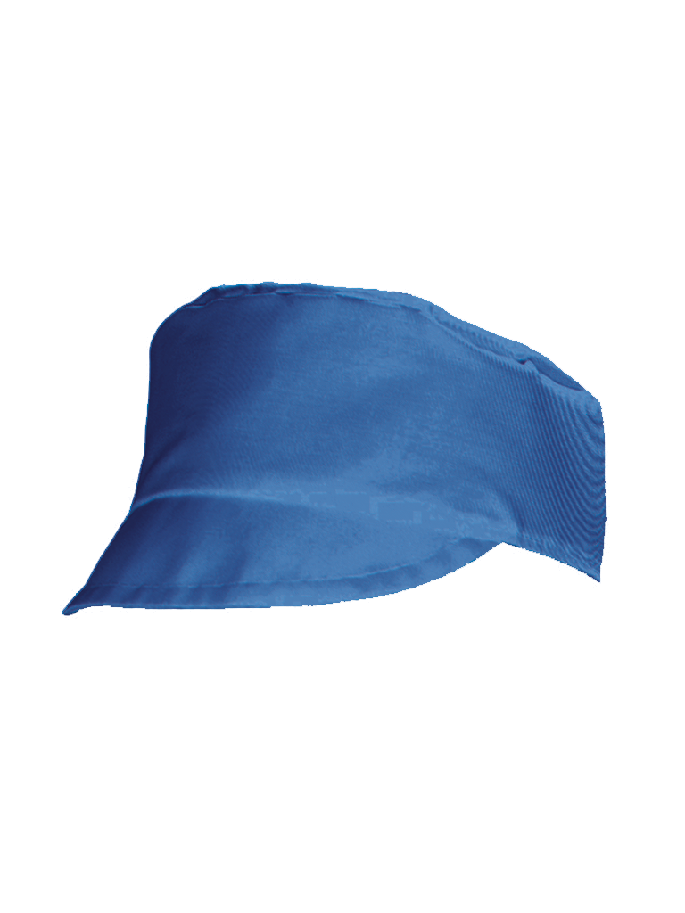 Picture of Peaked Pork Pie Hat - Royal Blue