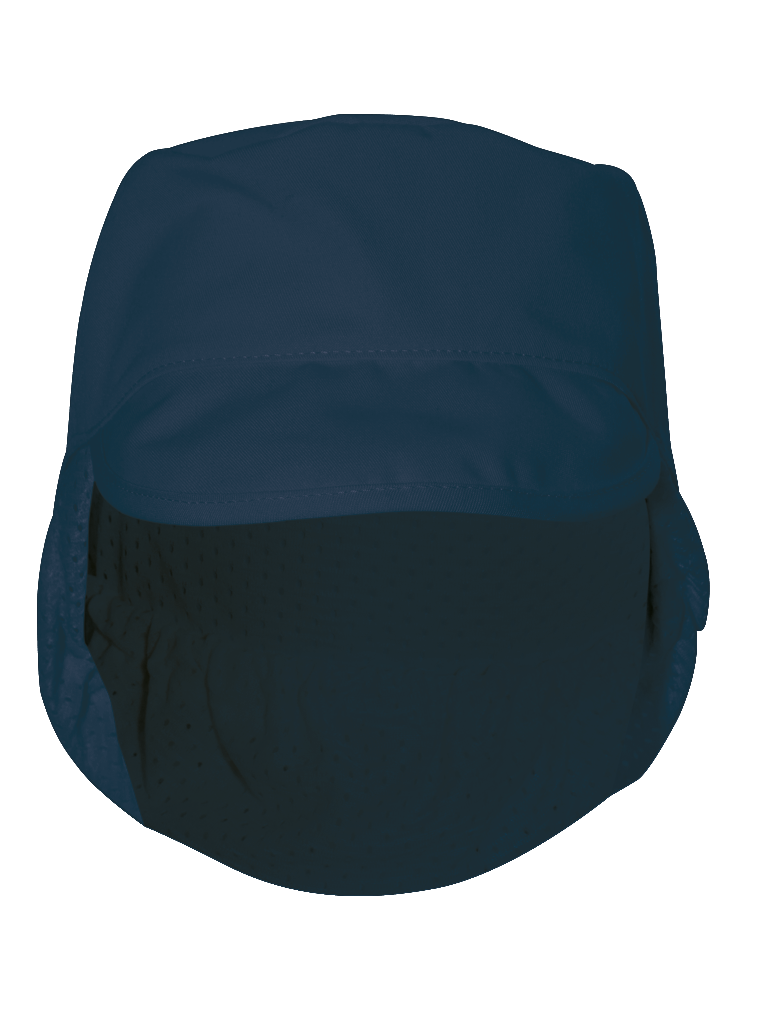 Picture of Peaked Hat Mesh Snood - Navy