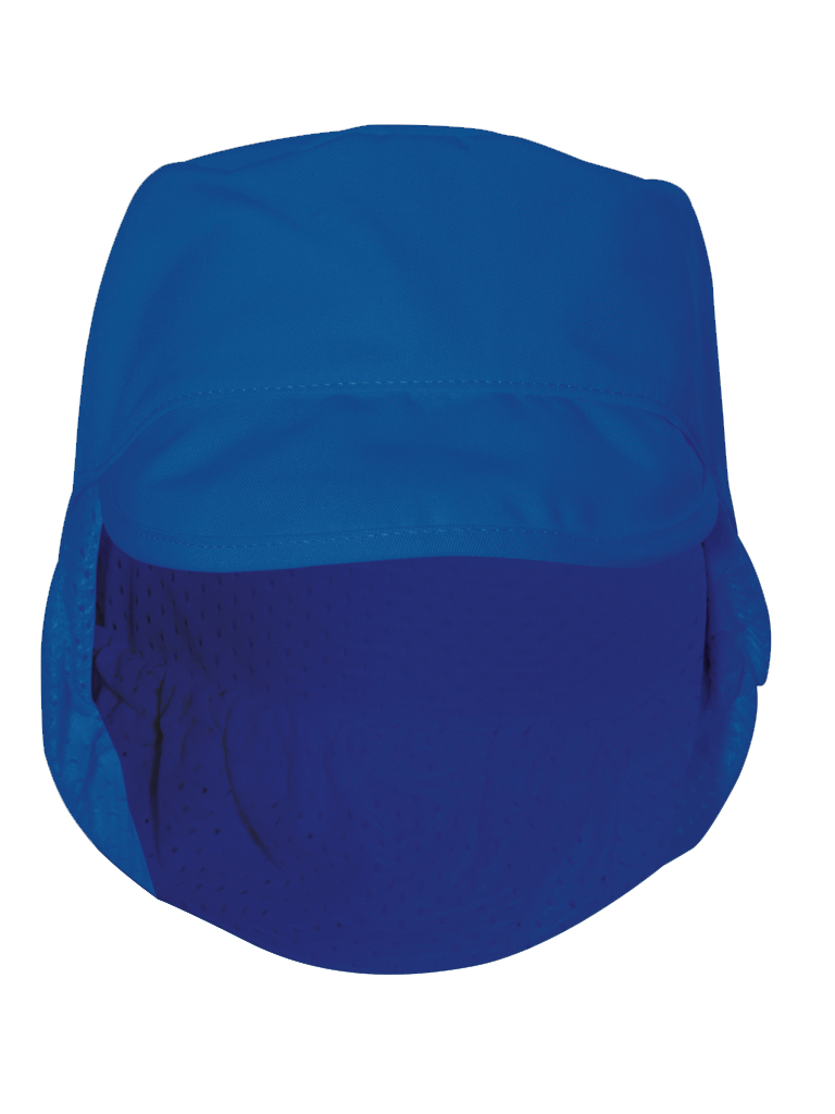 Picture of Peaked Hat Mesh Snood - Royal Blue