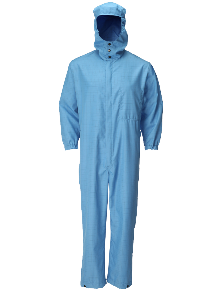 Picture of Double Layer Coverall - Blue