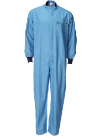 Picture of Single Layer Coverall with Knitted Cuffs
