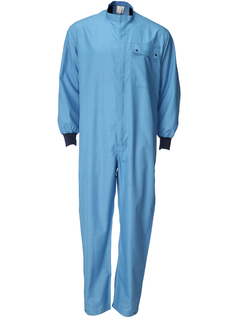 Picture of Single Layer Coverall - Blue