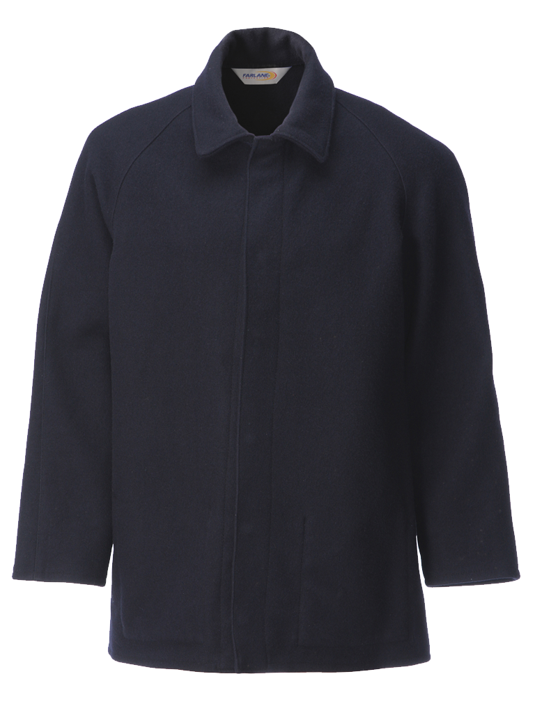 Picture of 100% Wool Jacket - Navy