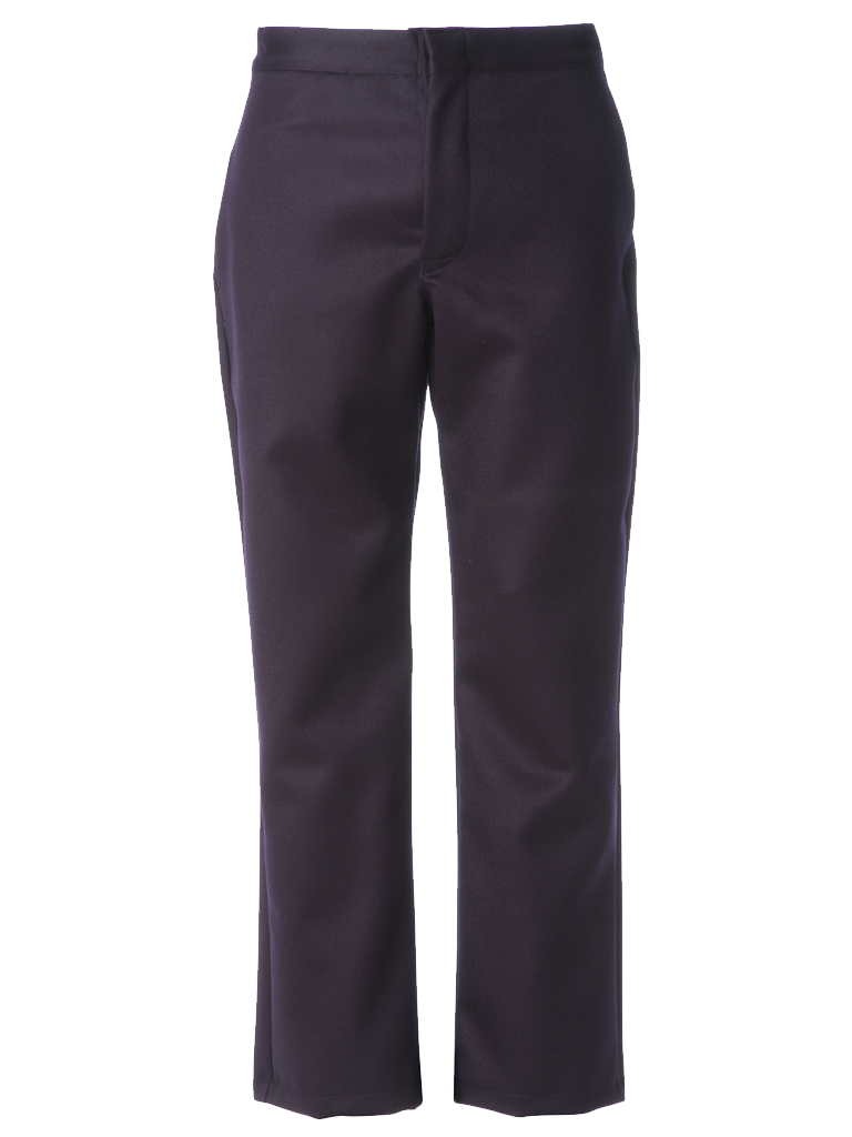 Picture of 100% Wool Trouser - Navy