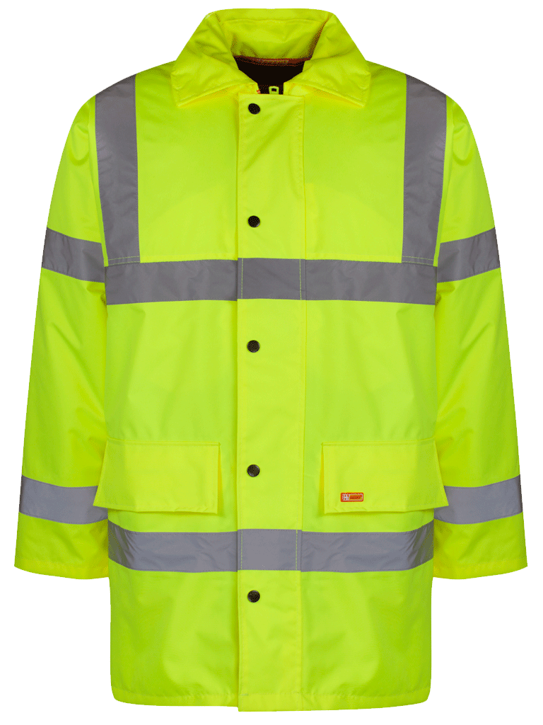 Picture of Constructor Traffic Jacket - HV Yellow