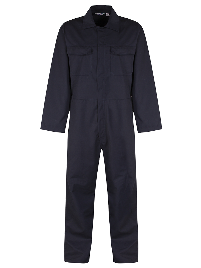 Overall blue shadow navy front