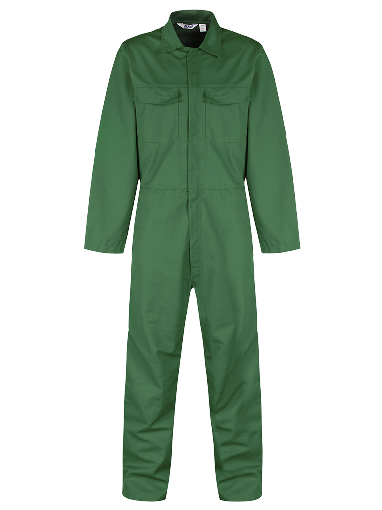 Overall Bottle Green Front