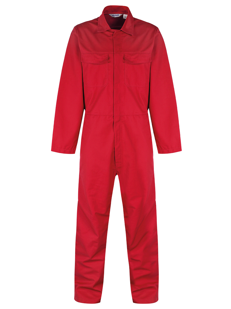 Overall Front Red