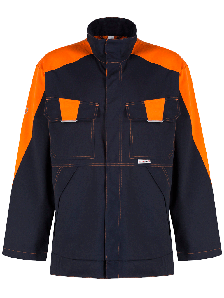 Picture of Protal® Jacket - Navy / Hi Vis Orange
