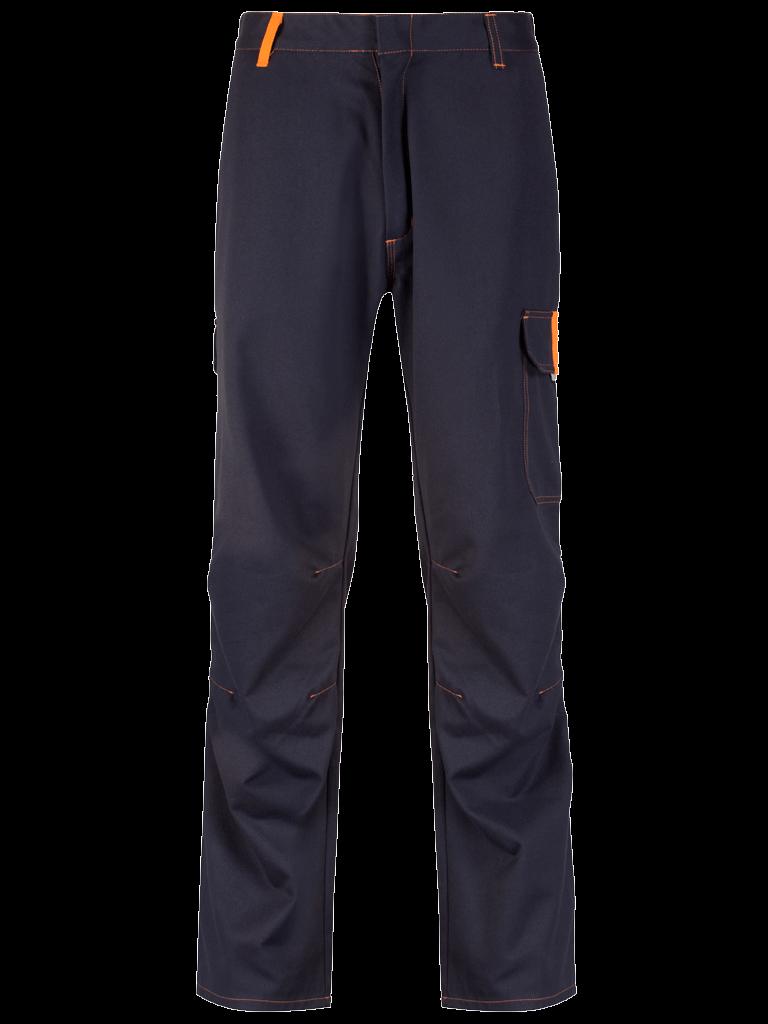 Picture of Protal® Trouser - Navy / Hi Vis Orange