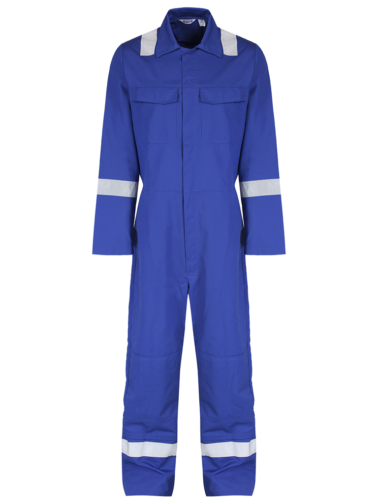 Picture of Alsi Coverall with Reflective Tape - Royal Blue