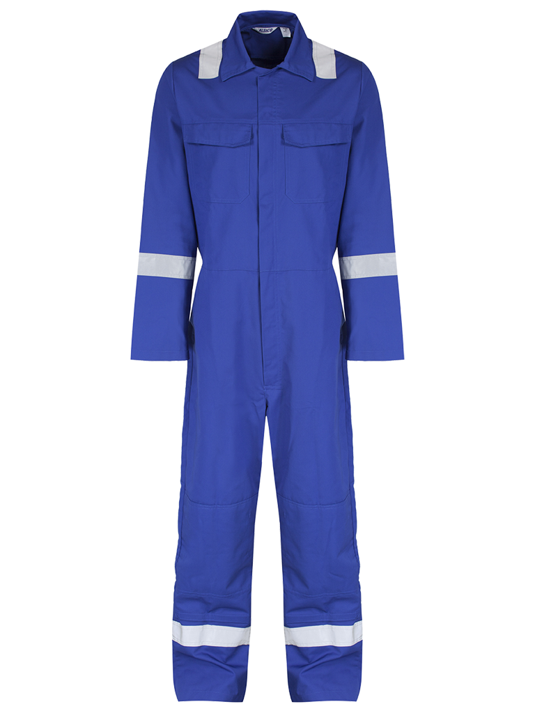 Royal Blue Front Coverall