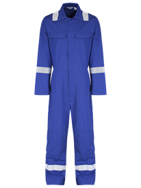 Picture of Alsi Coverall With Reflective Tape and Knee Pockets