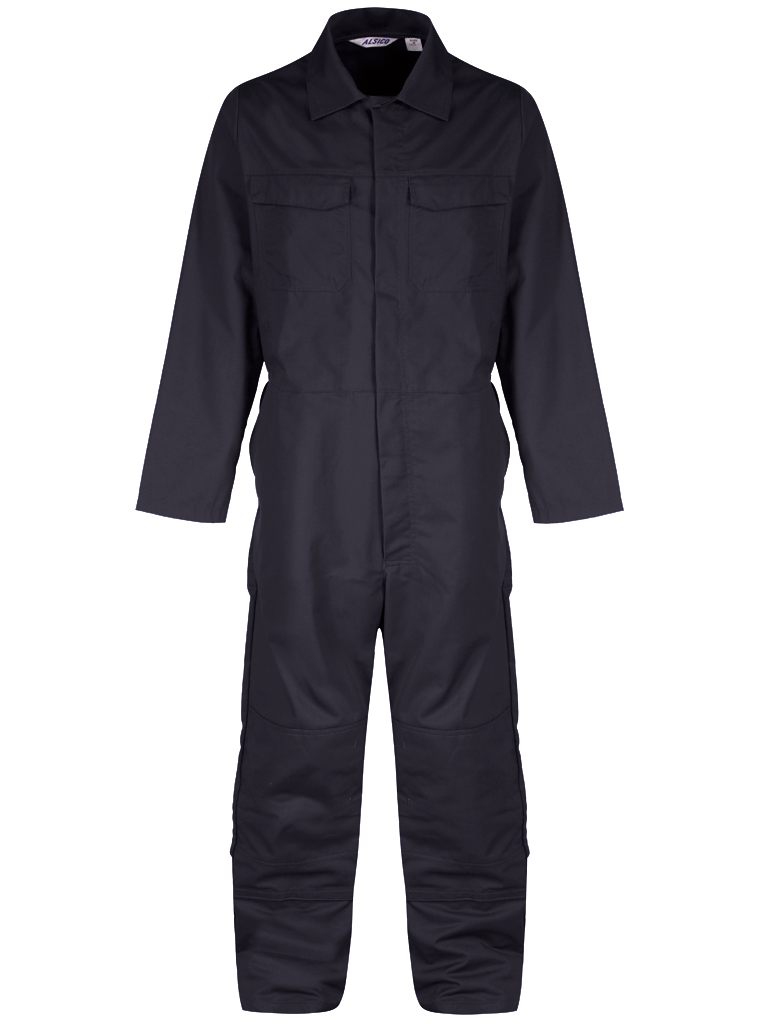 Picture of Alsi Coverall with Knee Pockets - Blue Shadow