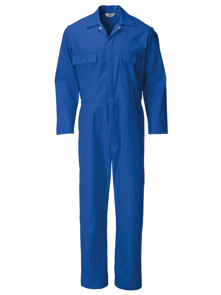 Picture of Coverall (Cotton Rich 315gsm) - Royal Blue