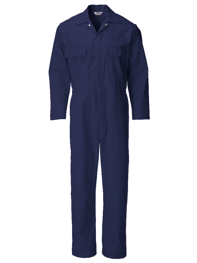 Picture of Coverall (Cotton Rich 315gsm) - Sailor Blue