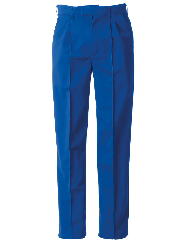 Picture of Trouser With Sewn-in Front Creases (315gsm) - Royal Blue